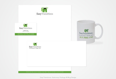 Easy Transition Movers: Stationery Package Design