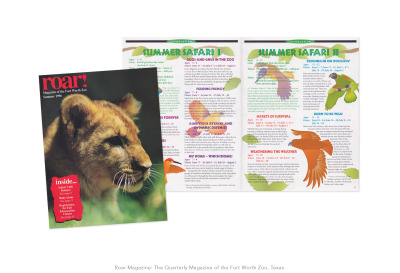 Fort Worth Zoo: Quarterly Magazine